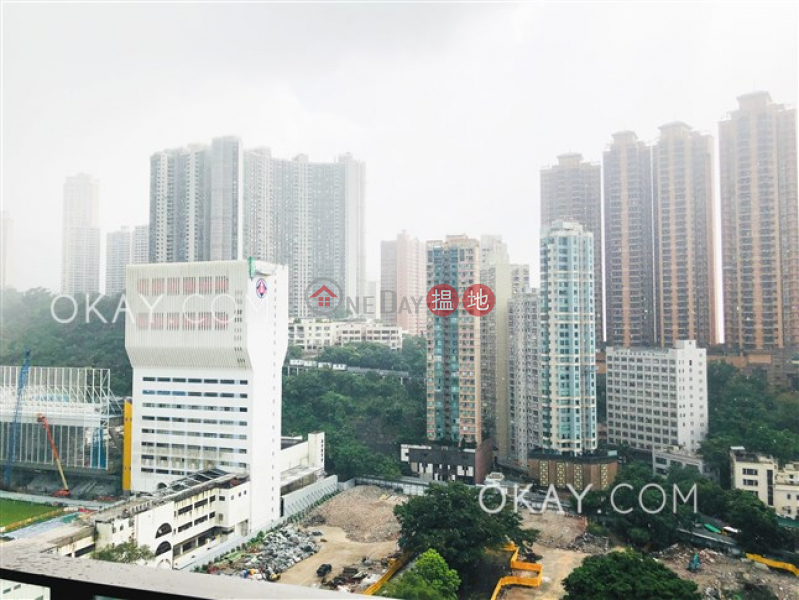 Tasteful 1 bedroom on high floor with balcony | For Sale, 38 Haven Street | Wan Chai District, Hong Kong, Sales | HK$ 13M