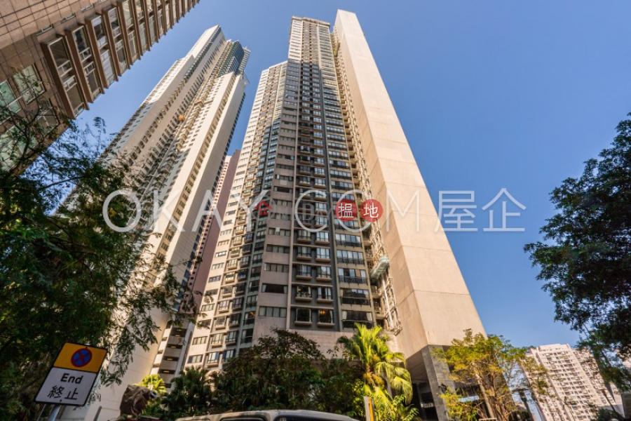 Unique 4 bedroom with balcony & parking | Rental | Clovelly Court 嘉富麗苑 Rental Listings