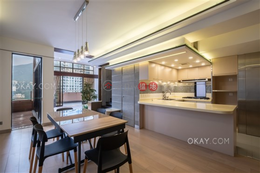 HK$ 95,000/ month Celeste Court Wan Chai District, Rare penthouse with rooftop, terrace & balcony | Rental