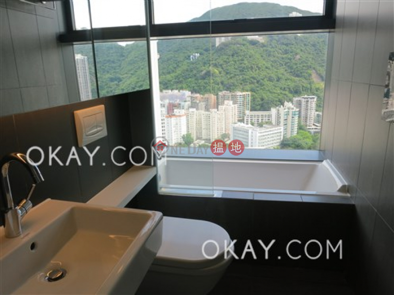 Gorgeous 3 bedroom on high floor with balcony & parking | For Sale | 28 Wood Road | Wan Chai District Hong Kong | Sales, HK$ 50M