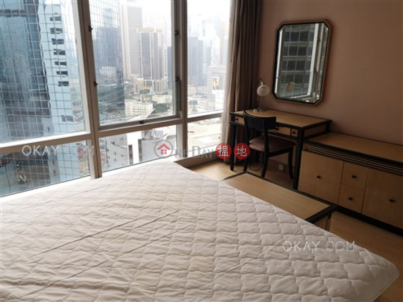 HK$ 42,000/ month, Convention Plaza Apartments | Wan Chai District, Unique 1 bedroom on high floor | Rental