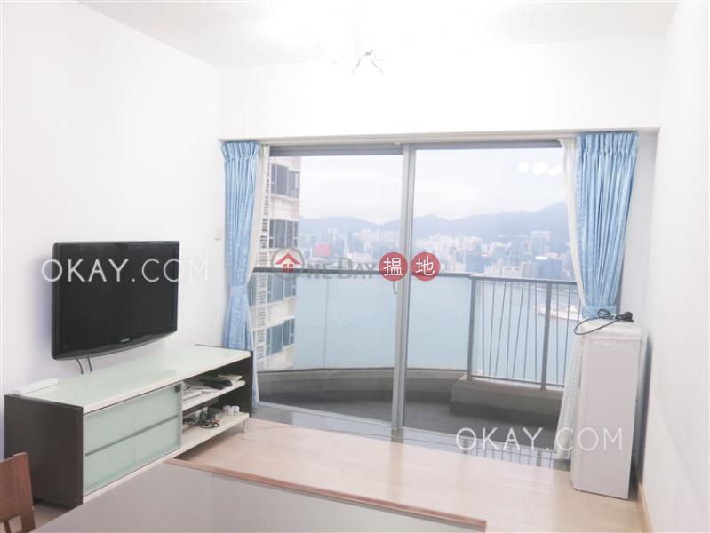 Stylish 3 bed on high floor with sea views & balcony | Rental | Tower 6 Grand Promenade 嘉亨灣 6座 Rental Listings