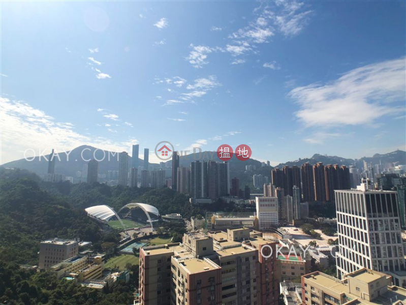 Nicely kept 2 bedroom on high floor with balcony | Rental 8 Jones Street | Wan Chai District Hong Kong | Rental, HK$ 33,000/ month