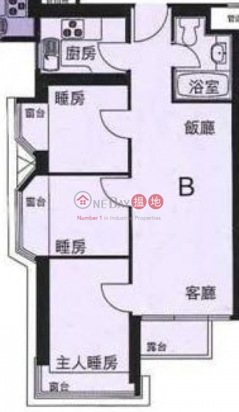 Mid Floor, Face North, 3 bedrooms Cheung Sha WanPhase 2 The Pacifica(Phase 2 The Pacifica)Rental Listings (RAYC-9032740367)_0