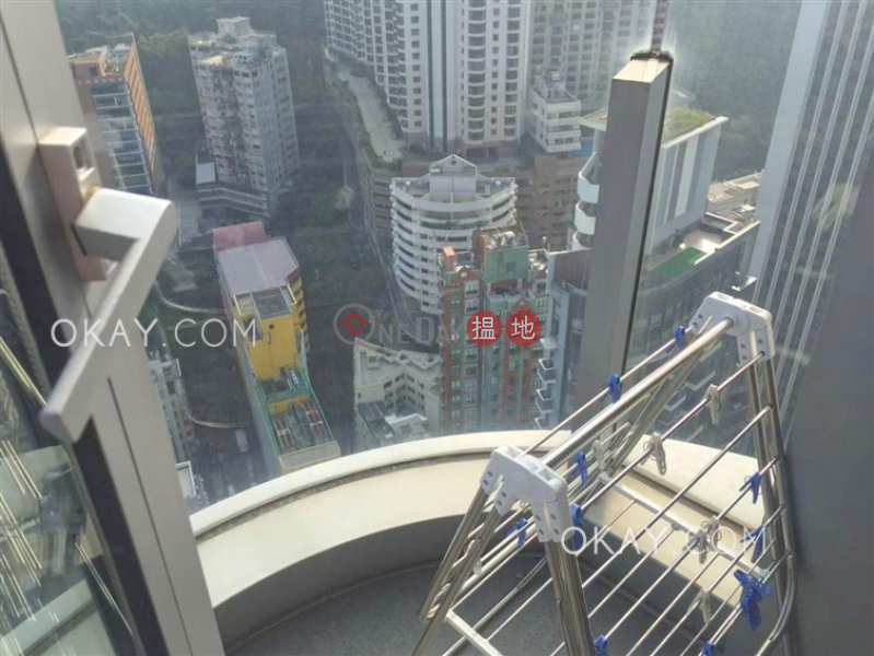 Practical 1 bedroom on high floor with balcony | Rental | One Wan Chai 壹環 Rental Listings