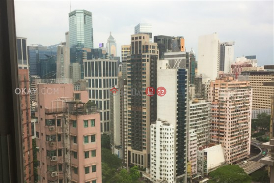 HK$ 11M, The Warren | Wan Chai District, Unique 1 bedroom on high floor with sea views & balcony | For Sale