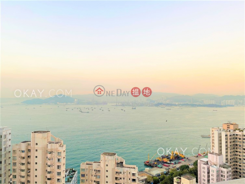 Lovely 3 bedroom on high floor with balcony | Rental 9 Rock Hill Street | Western District, Hong Kong Rental | HK$ 42,000/ month