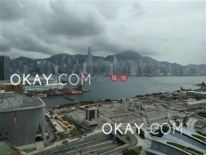HK$ 80M, Grand Austin Tower 1, Yau Tsim Mong, Gorgeous 4 bedroom on high floor with balcony & parking   For Sale