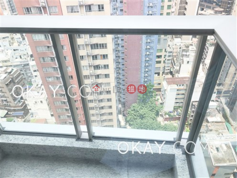 HK$ 42,000/ month, My Central Central District, Elegant 2 bedroom on high floor with balcony | Rental