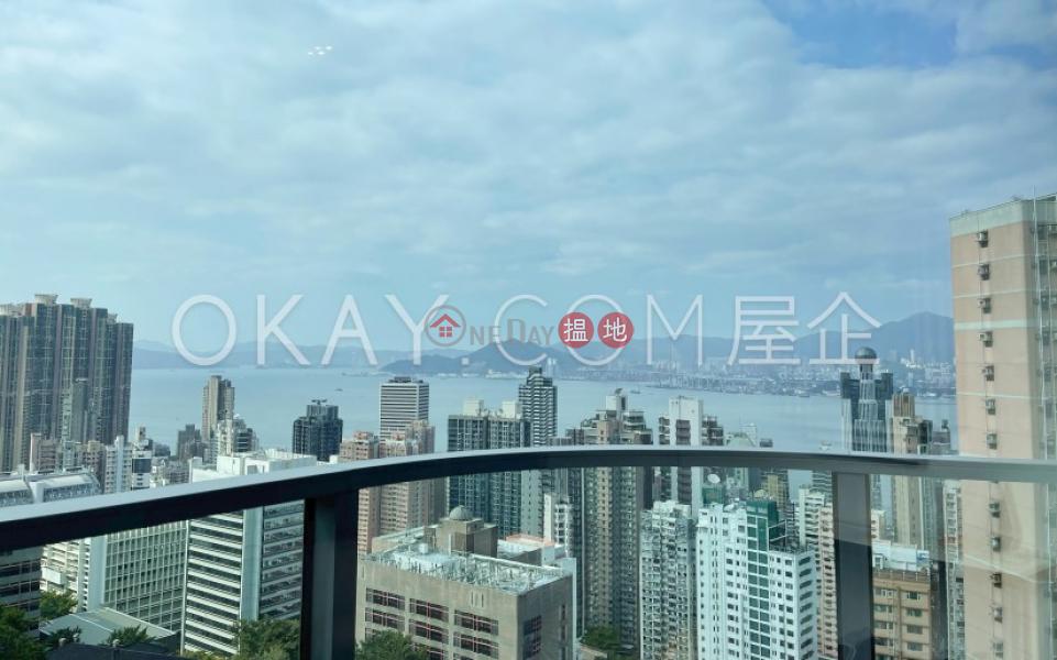 香港搵樓|租樓|二手盤|買樓| 搵地 | 住宅-出租樓盤-4房3廁,極高層,海景,露台翰林軒2座出租單位