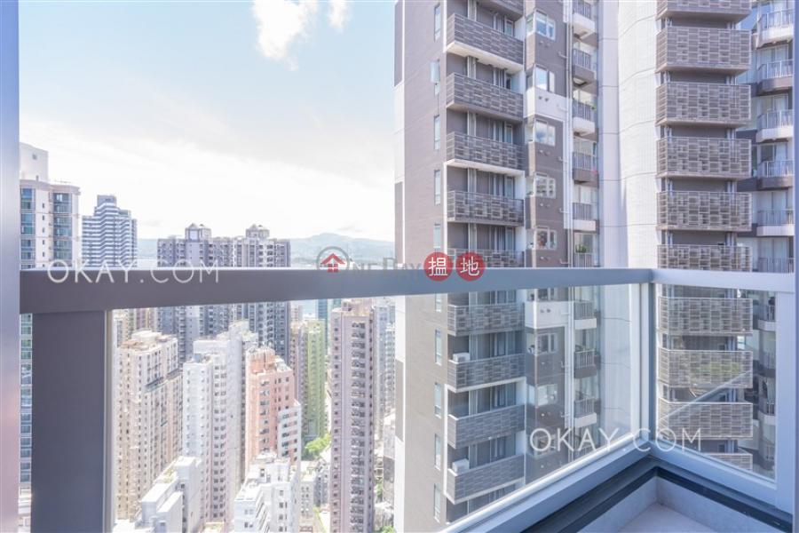 1房1廁,極高層,星級會所《RESIGLOW薄扶林出租單位》 8興漢道   西區-香港出租HK$ 28,000/ 月