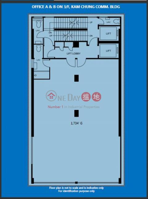 灣仔1734呎寫字樓出租|灣仔區金鐘商業大廈(Kam Chung Commercial Building)出租樓盤 (H000338439)_0