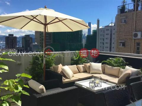 Elegant penthouse with rooftop | Rental|Western DistrictTrue Light Building(True Light Building)Rental Listings (OKAY-R14267)_0