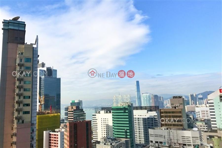 Generous 1 bed on high floor with sea views & balcony | Rental | J Residence 嘉薈軒 Rental Listings