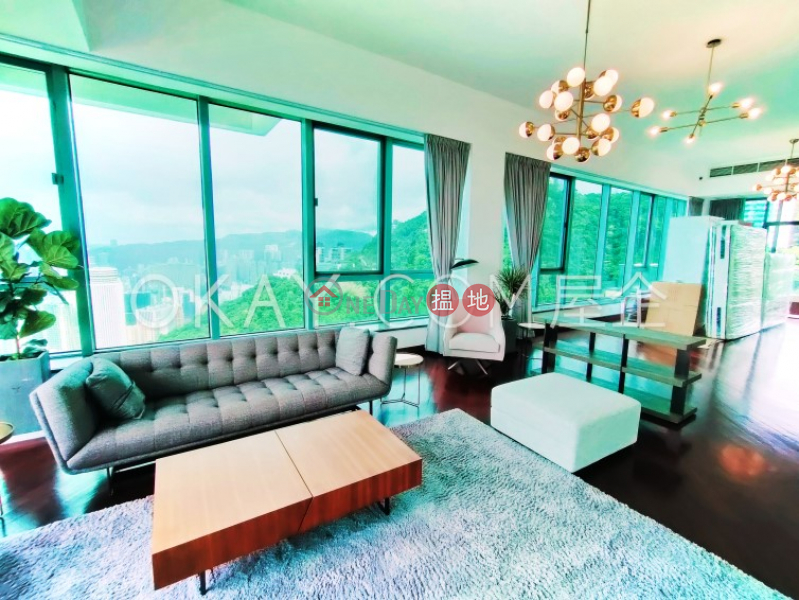 Stylish 5 bed on high floor with sea views & rooftop | Rental | Bowen\'s Lookout 寶雲道13號 Rental Listings