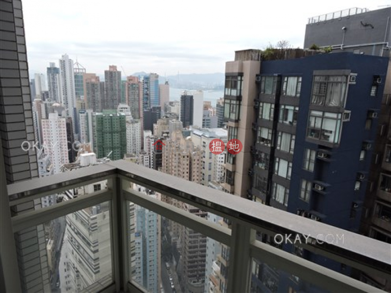 Property Search Hong Kong   OneDay   Residential, Rental Listings Charming 2 bed on high floor with sea views & balcony   Rental