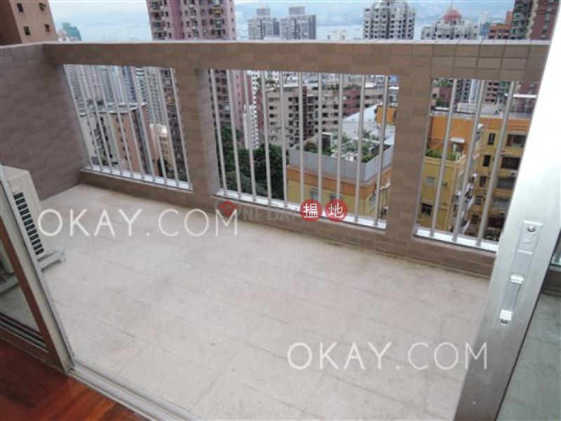 Efficient 2 bedroom with balcony | Rental | 41 Conduit Road | Western District, Hong Kong Rental, HK$ 72,000/ month