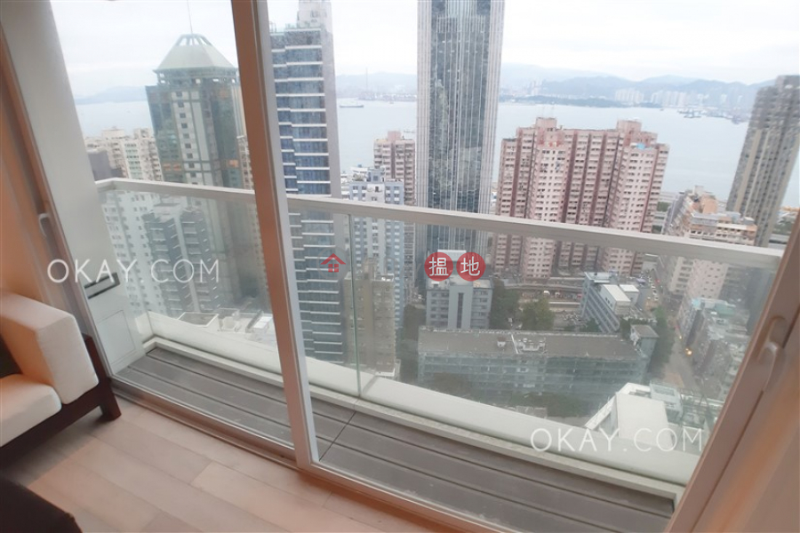 Tasteful 2 bed on high floor with sea views & balcony | For Sale, 116-118 Second Street | Western District, Hong Kong, Sales | HK$ 24.5M