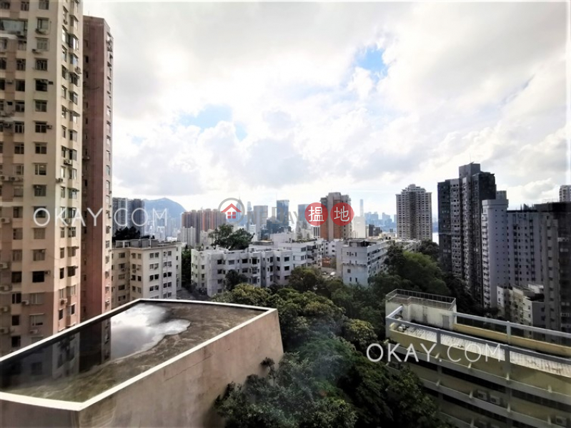 Charming 1 bedroom with sea views & parking | Rental | Tai Hang Terrace 大坑台 Rental Listings