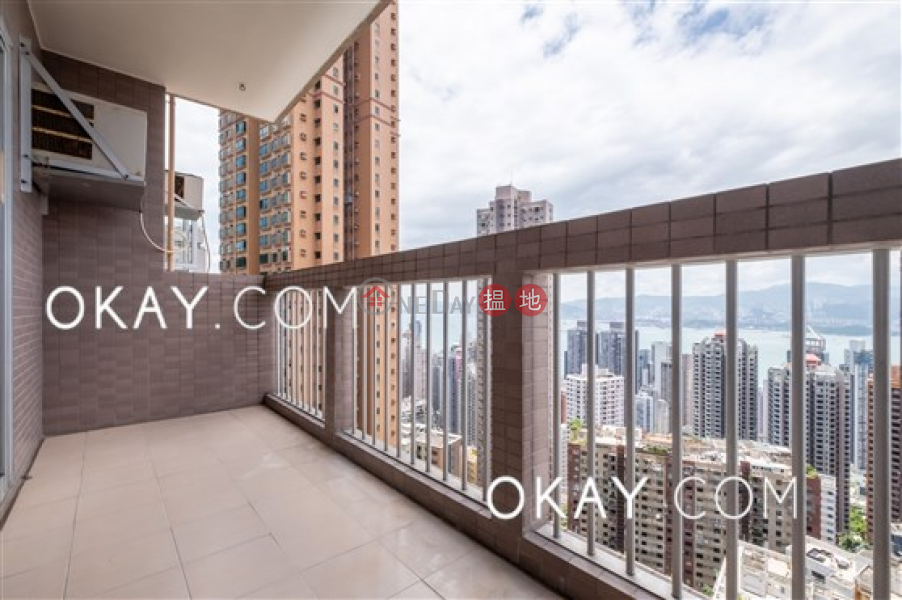 HK$ 32.8M, Realty Gardens, Western District Efficient 3 bedroom with balcony & parking | For Sale