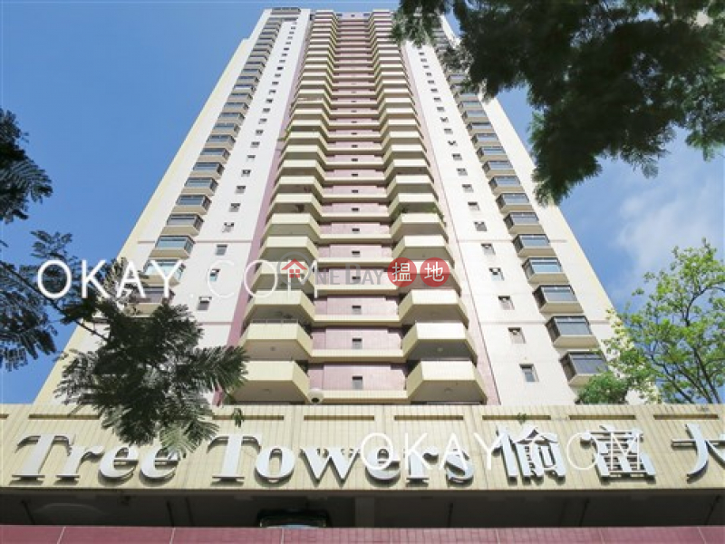 HK$ 78,000/ month | Elm Tree Towers Block A | Wan Chai District, Lovely 3 bedroom with sea views & parking | Rental