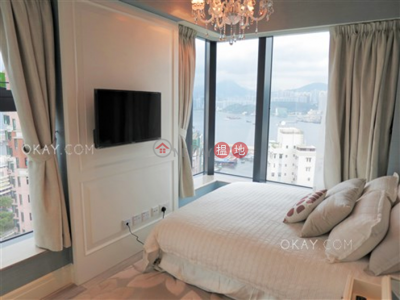 HK$ 25,000/ month | Le Riviera | Eastern District | Practical 1 bedroom on high floor with balcony | Rental