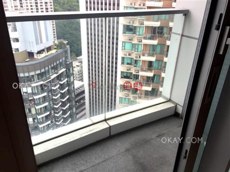 1房1廁,極高層,露台《壹環出售單位》 壹環(One Wan Chai)出售樓盤 (OKAY-S261555)
