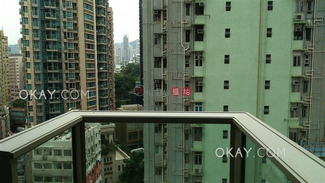 Popular 1 bedroom with balcony | Rental, The Avenue Tower 2 囍匯 2座 Rental Listings | Wan Chai District (OKAY-R289208)