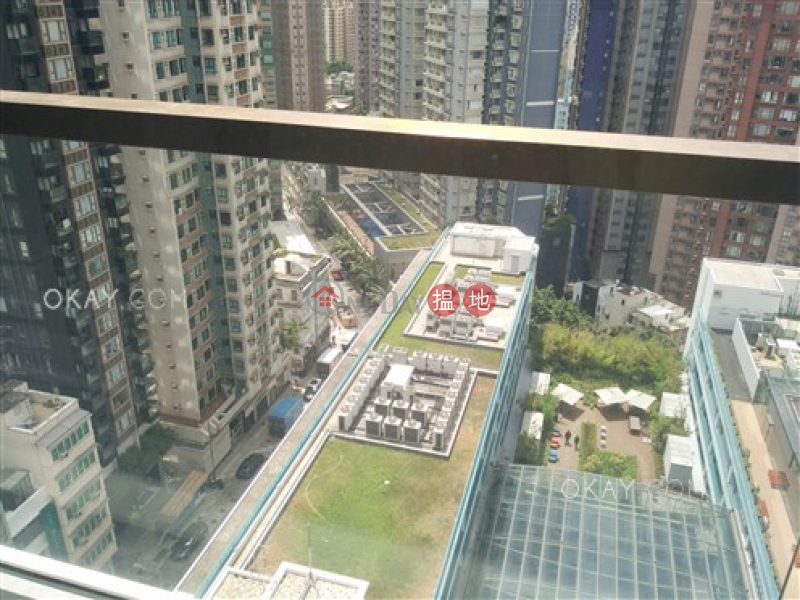 HK$ 36,000/ month | 28 Aberdeen Street, Central District, Lovely 1 bedroom on high floor with balcony | Rental