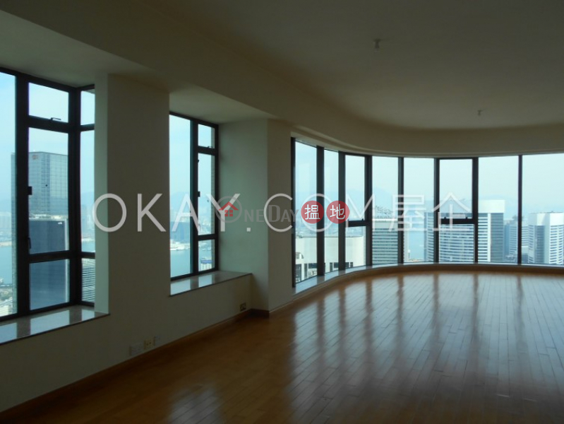 Beautiful 3 bedroom on high floor with harbour views | Rental | 2 Bowen Road | Central District, Hong Kong Rental HK$ 95,000/ month