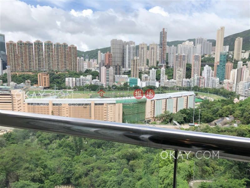 Gorgeous 3 bedroom with balcony | Rental, Greenville Gardens 嘉苑 Rental Listings | Wan Chai District (OKAY-R169650)
