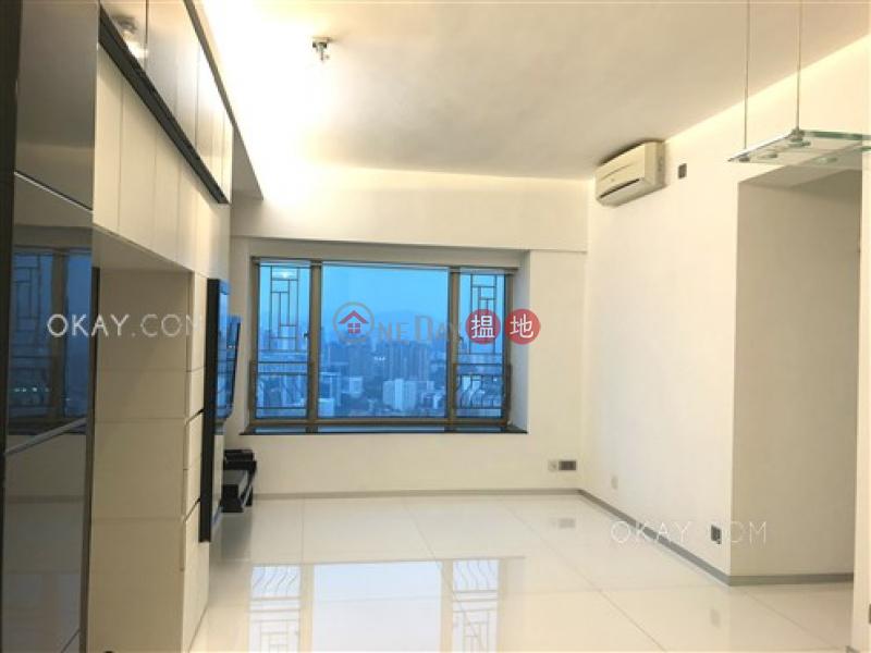 HK$ 25M | Sorrento Phase 1 Block 3, Yau Tsim Mong, Unique 2 bedroom on high floor | For Sale