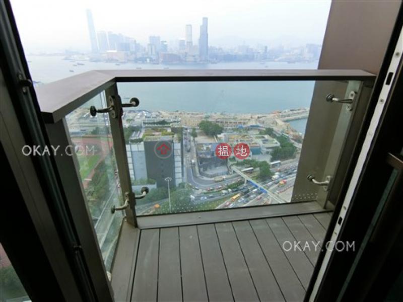 Elegant 2 bed on high floor with sea views & balcony | Rental | The Gloucester 尚匯 Rental Listings