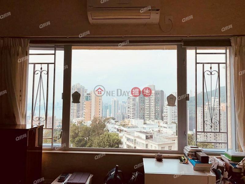 HK$ 3,050萬-瑞士花園 灣仔區 連車位,維港海景,地標名廈,廳大房大,實用靚則瑞士花園買賣盤