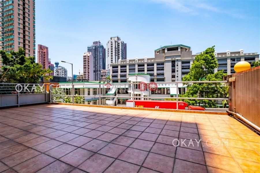 Charming 2 bedroom with terrace | Rental, 56 Bonham Road 般咸道56號 Rental Listings | Western District (OKAY-R223939)