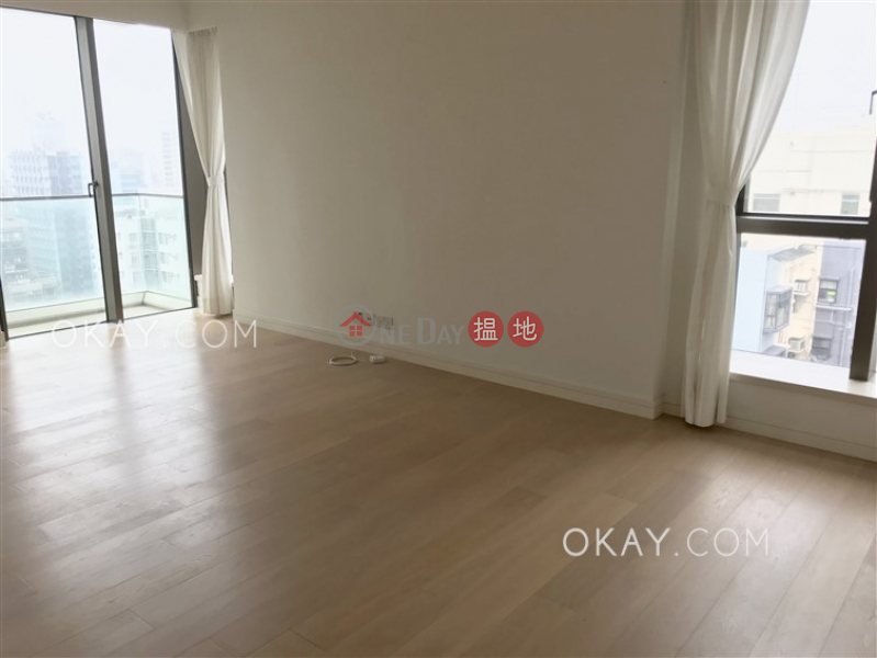 Tasteful 3 bedroom with harbour views & balcony | Rental | Kensington Hill 高街98號 Rental Listings