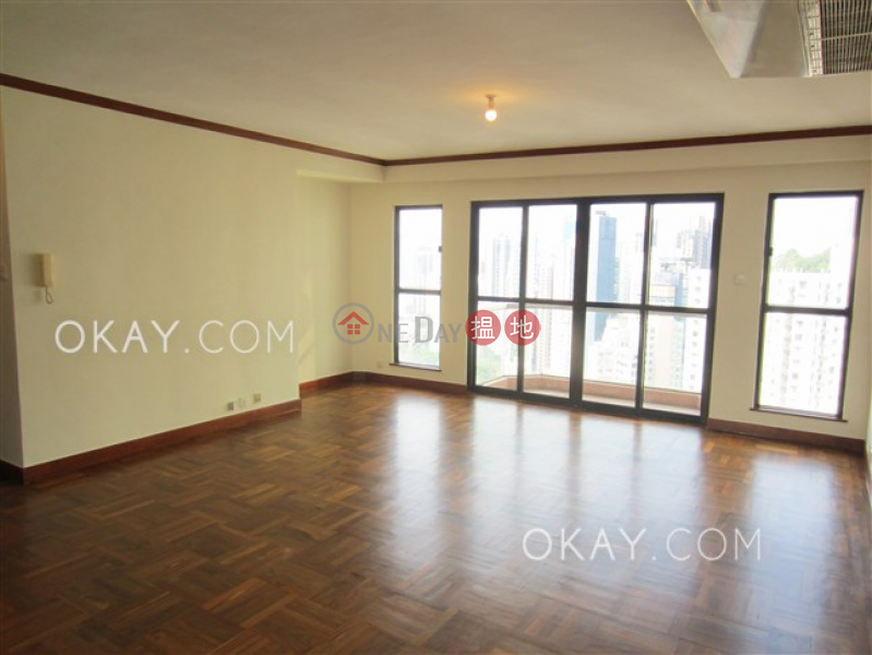Luxurious 3 bed on high floor with balcony & parking | Rental | Jolly Villa 竹麗苑 Rental Listings