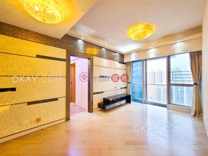 Gorgeous 3 bedroom on high floor with balcony | Rental | Imperial Seaview (Tower 2) Imperial Cullinan 瓏璽2座天海鑽 Rental Listings
