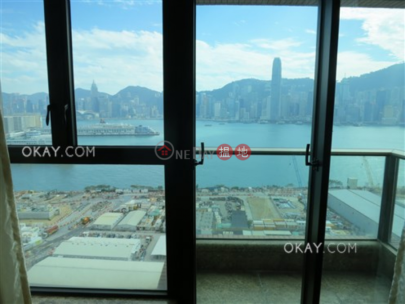 Lovely 3 bedroom on high floor with sea views & balcony | For Sale | 1 Austin Road West | Yau Tsim Mong | Hong Kong | Sales HK$ 45M