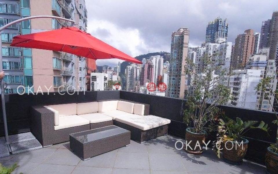 Tasteful 1 bedroom on high floor with rooftop | For Sale | Kam Kin Mansion 金堅大廈 Sales Listings