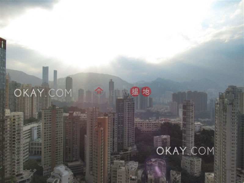 HK$ 36M, Serenade, Wan Chai District Beautiful 3 bed on high floor with balcony & parking | For Sale