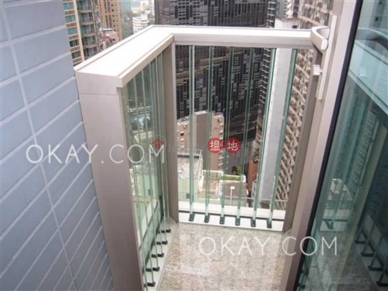 Elegant 1 bedroom on high floor with balcony | Rental | 200 Queens Road East | Wan Chai District Hong Kong, Rental HK$ 32,000/ month