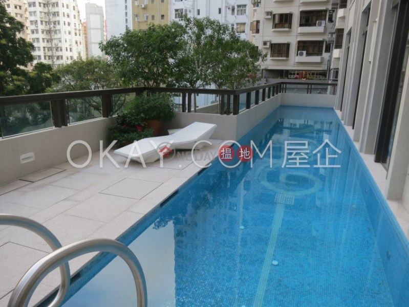 Generous 1 bedroom with terrace | Rental, The Pierre NO.1加冕臺 Rental Listings | Central District (OKAY-R209635)