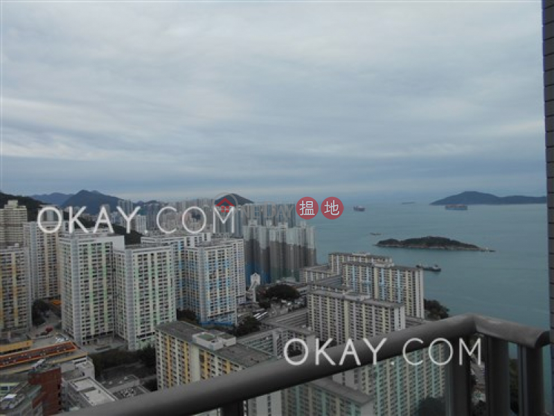 Property Search Hong Kong | OneDay | Residential | Rental Listings | Stylish 2 bed on high floor with sea views & parking | Rental