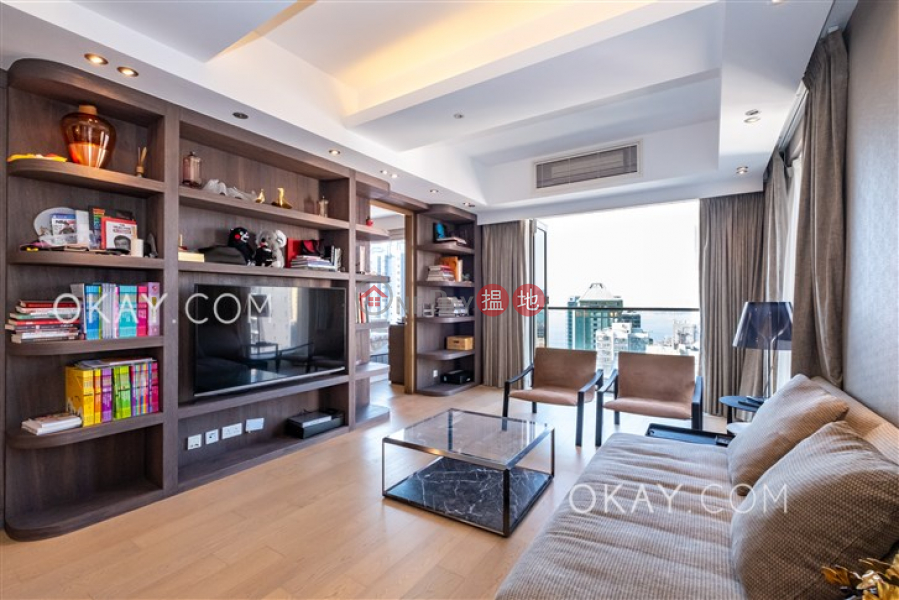Luxurious 3 bed on high floor with balcony & parking | For Sale, 23 Hing Hon Road | Western District, Hong Kong, Sales HK$ 45M
