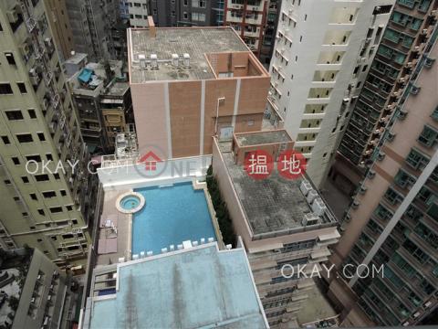 2房1廁,星級會所,露台《盈峰一號出租單位》 盈峰一號(One Pacific Heights)出租樓盤 (OKAY-R90781)_0