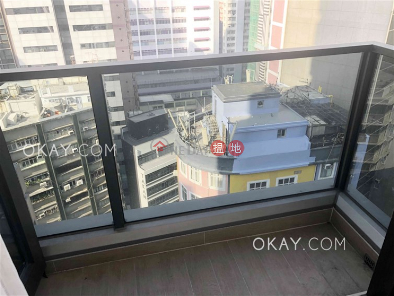 Intimate 1 bedroom with balcony | Rental, L\' Wanchai 壹嘉 Rental Listings | Wan Chai District (OKAY-R323262)