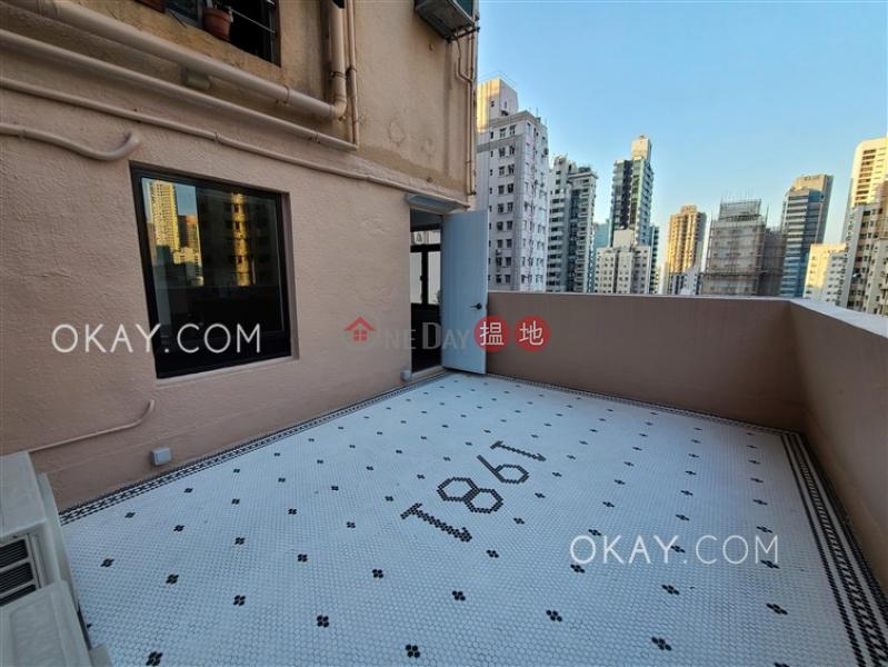 Cozy 1 bedroom with terrace | Rental, Fook Moon Building 福滿大廈 Rental Listings | Western District (OKAY-R131833)