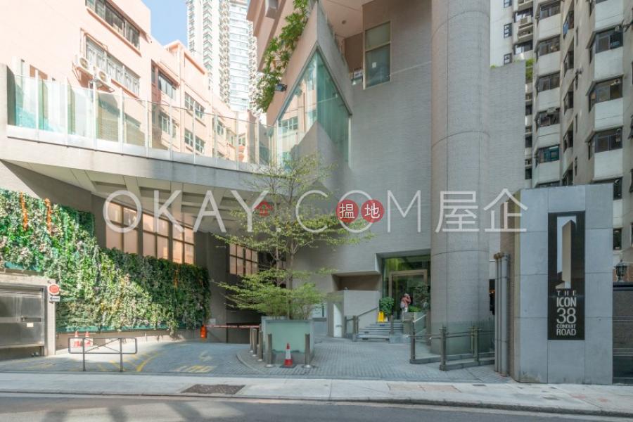 香港搵樓|租樓|二手盤|買樓| 搵地 | 住宅-出租樓盤2房1廁,極高層,星級會所,露台干德道38號The ICON出租單位