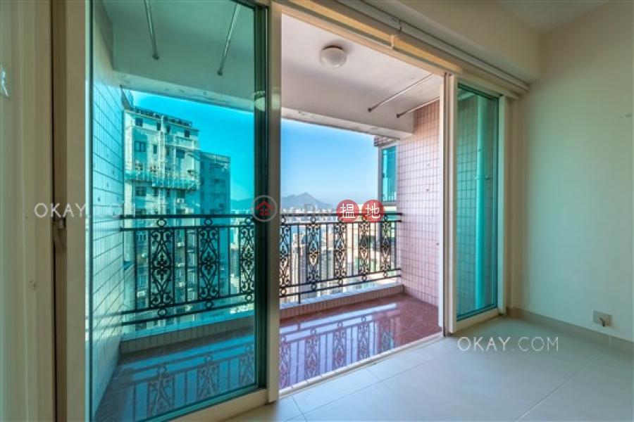 Popular 3 bed on high floor with sea views & balcony | Rental | Pacific Palisades 寶馬山花園 Rental Listings